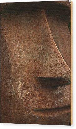 Moai Face Wood Print by LeeAnn McLaneGoetz McLaneGoetzStudioLLCcom