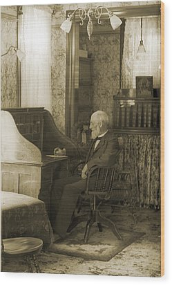 My Great-great-grandfather 1885 Wood Print by Jan W Faul