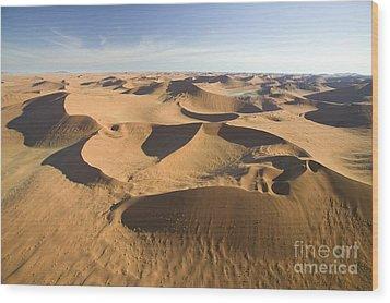 Namib Desert Wood Print by Namib Desert