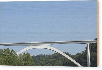 Natchez Trace Bridge Wood Print by James Collier