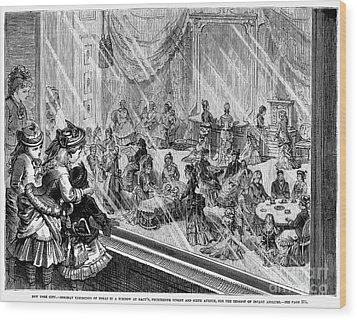 New York: Macys, 1876 Wood Print by Granger