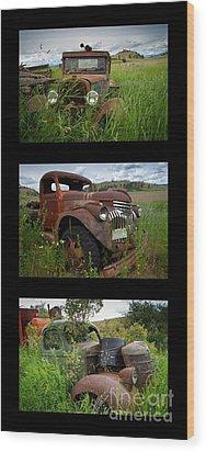 Old Guys 7 Wood Print by Idaho Scenic Images Linda Lantzy