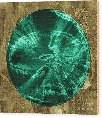 Orb Number Three Wood Print by David Gordon