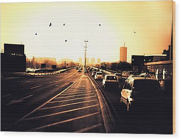 Ordinary Day Wood Print by Uros Zunic