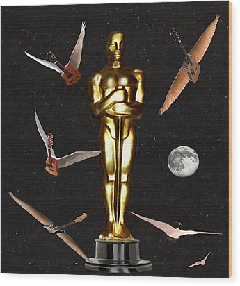 Oscars Night Out Wood Print by Eric Kempson