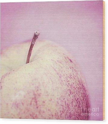 Pink Lady Wood Print by Priska Wettstein