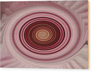 Pink Vortex Wood Print by Aimee L Maher Photography and Art Visit ALMGallerydotcom