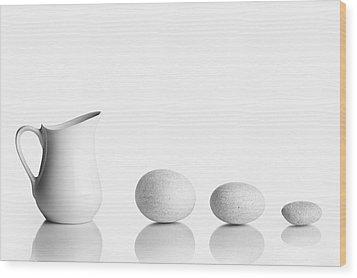 Porcelain Wood Print by Todor Vassilev