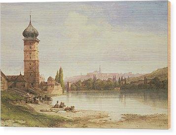 Prague Czechoslovakia Wood Print by William Wyld