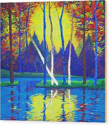 Primavera Wood Print by Randall Weidner