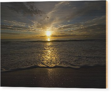 Puerto Rican Sunset II Wood Print by Tim Fitzwater