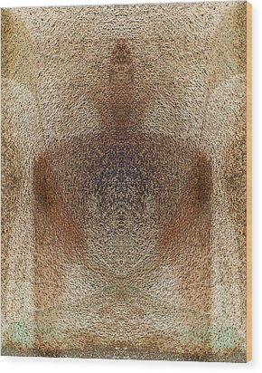 Qi Wood Print by Christopher Gaston