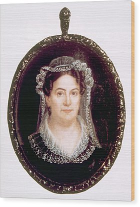 Rachel Jackson 1767-1828, Wife Wood Print by Everett