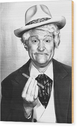 Red Skelton Show, The, Red Skelton Wood Print by Everett