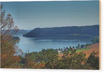 River View IIi Wood Print by Steven Ainsworth
