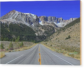 Road Marking On Road Wood Print by David Toussaint - Photographersnature.com
