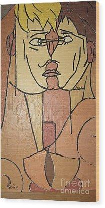 Rolland Wood Print by Geoffrey Mann
