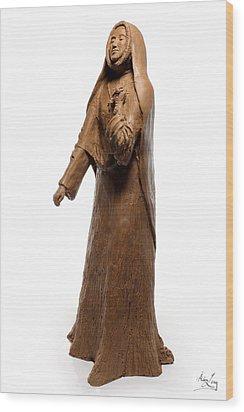 Saint Rose Philippine Duchesne Sculpture Wood Print by Adam Long