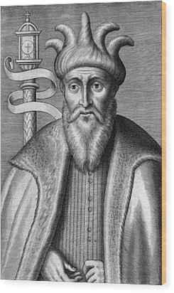 Saladin, Sultan Of Egypt And Syria Wood Print by Chris Hellier
