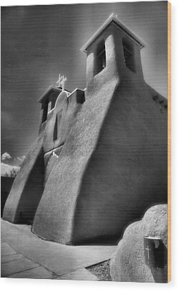 San Francisco De Asis Church II Wood Print by Steven Ainsworth