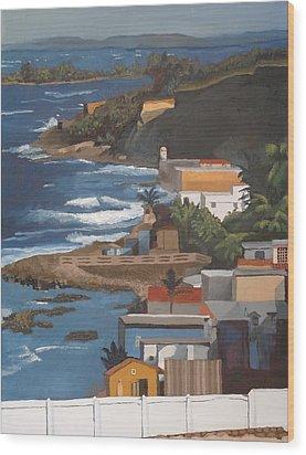 San Juan Wood Print by Alexander Buck