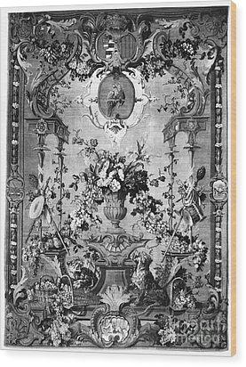 Savonnerie Panel C1800 Wood Print by Granger
