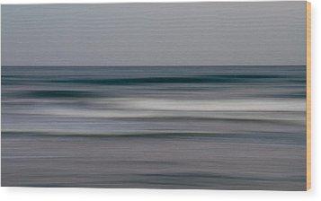 sea Wood Print by Stelios Kleanthous
