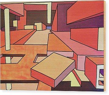 September Color Wood Print by Charlie Harris