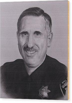 Sgt. Weaver Wood Print by Patrick Entenmann