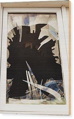 Sharpe Clouds Wood Print by Todd Sherlock