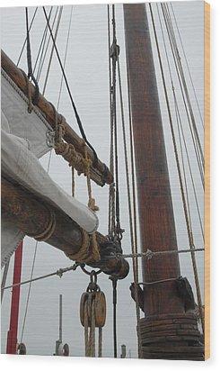 Ship 30 Wood Print by Joyce StJames
