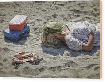 Sleeping Beauty Wood Print by Joana Kruse