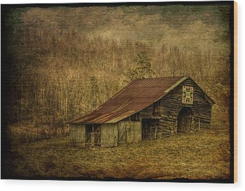 Slightly Out Of Kilter Wood Print by Christine Annas