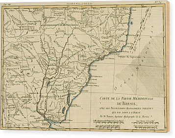 Southern Brazil Wood Print by Guillaume Raynal