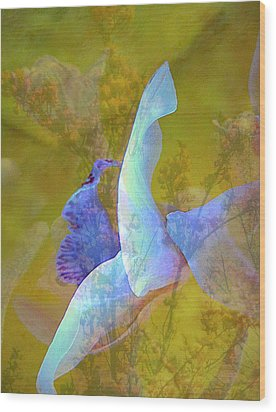 Spread To The Wind Wood Print by Shirley Sirois