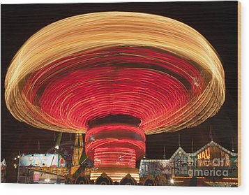 State Fair Vii Wood Print by Clarence Holmes