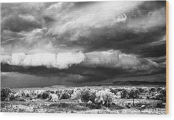 Storm Clouds Wood Print by Greg Jones