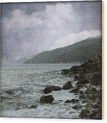 Storm Wood Print by Ioannis Kontomitros