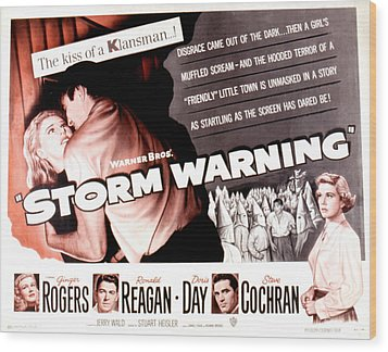 Storm Warning, Ginger Rogers, Steve Wood Print by Everett