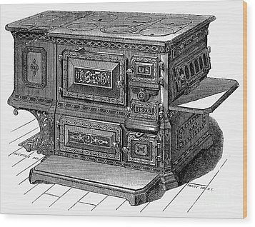Stove, 1876 Wood Print by Granger