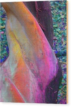 Wood Print featuring the digital art Stretch by Richard Laeton