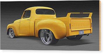 Studebaker Truck Wood Print by Mike McGlothlen