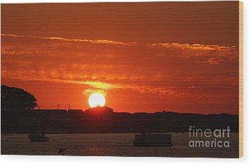 Sunrise 7547 Wood Print by Chuck Smith