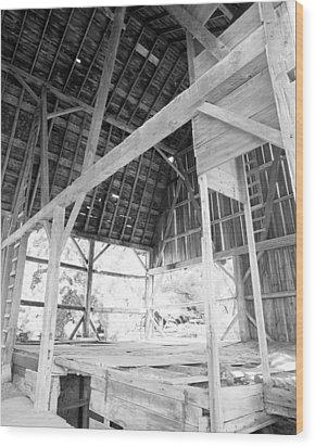 Tessman Barn Waukesha Wood Print by Jan W Faul