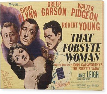 That Forsyte Woman, Greer Garson, Errol Wood Print by Everett