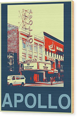 The Apollo Wood Print by Marvin Blatt