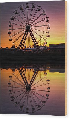 The Big Easy Wood Print by Pixel Perfect by Michael Moore