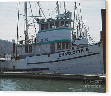 The Charlotte B Wood Print by Chalet Roome-Rigdon