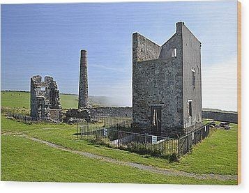 The Copper Mines Wood Print by Martina Fagan