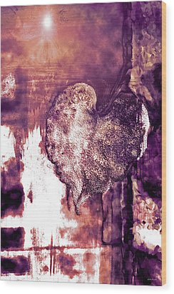 The Light Within Wood Print by Linda Sannuti